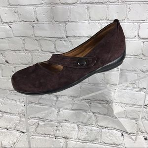 Privo by clarks brown suede maryjanes